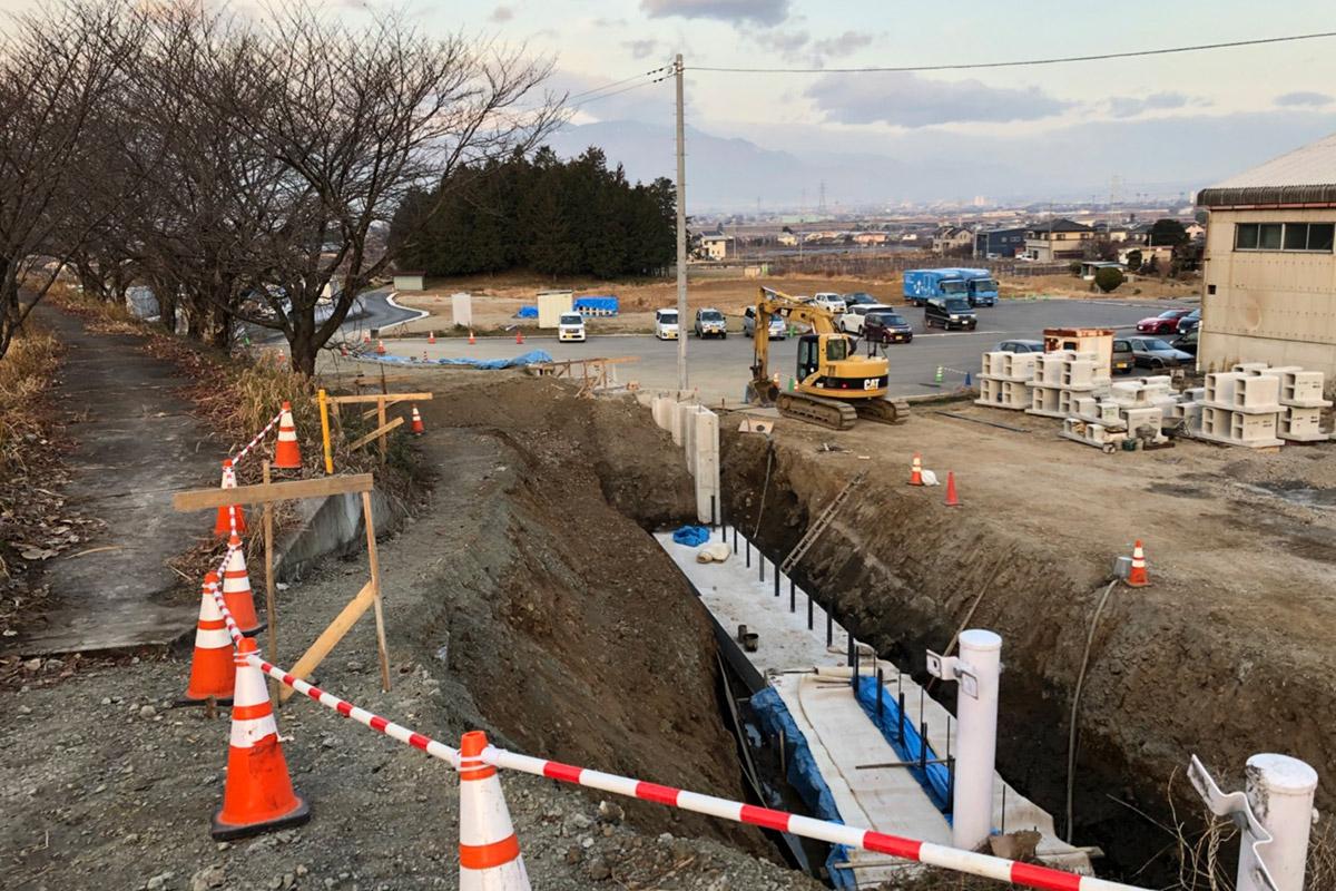山梨県甲府市に新たな物流拠点を「2019年春福島運輸マザーデポ完成予定!!」