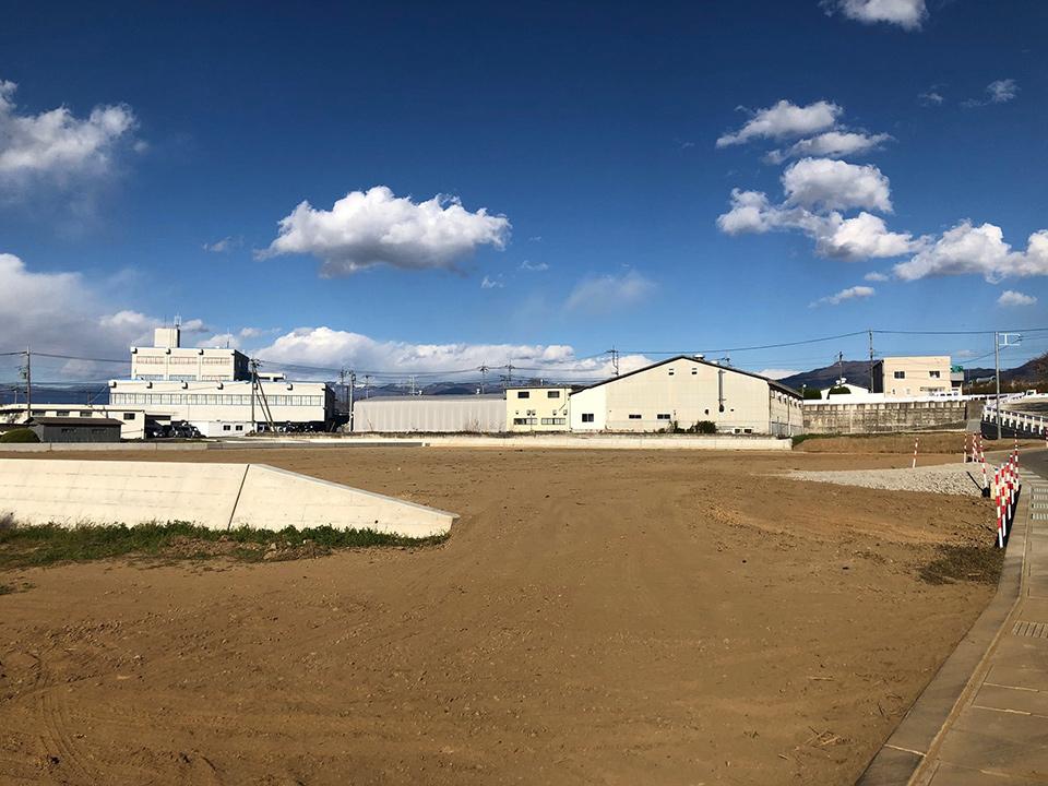 白井新センター予定地
