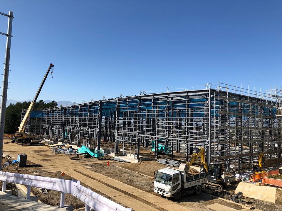 白井新センター建設工事